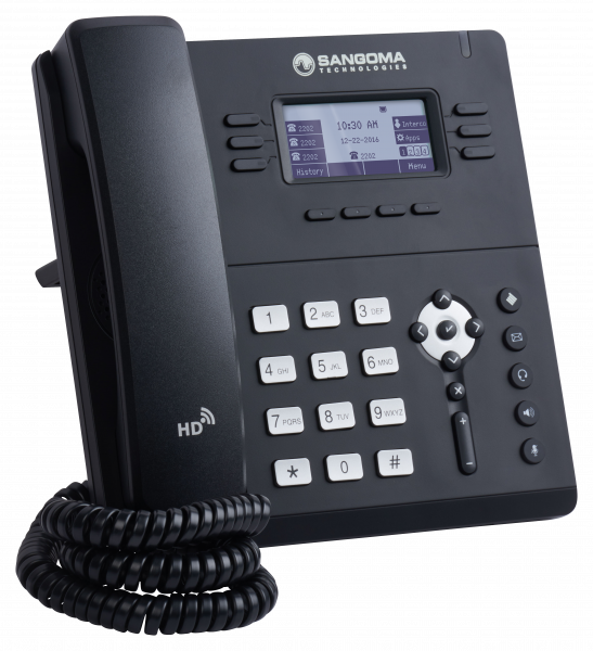 Sangoma S405 IP Phone - rotated to the right