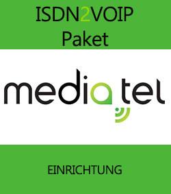 ISDN2VOIP Paket - Einrichtung (für 1-Jahres-Verträge)