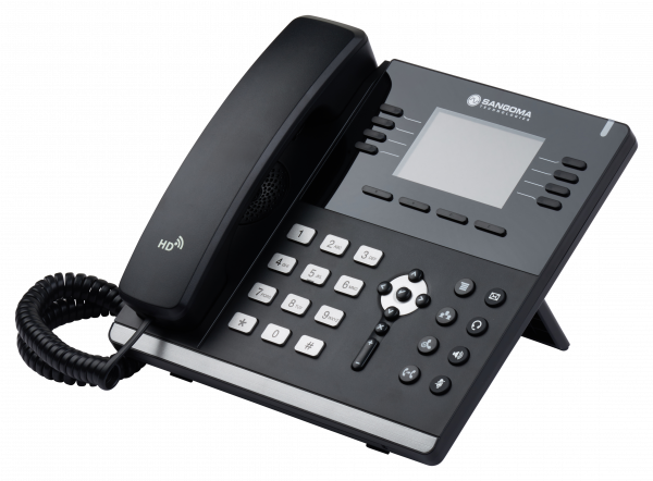 Sangoma s500 IP Phone - rotated to the left