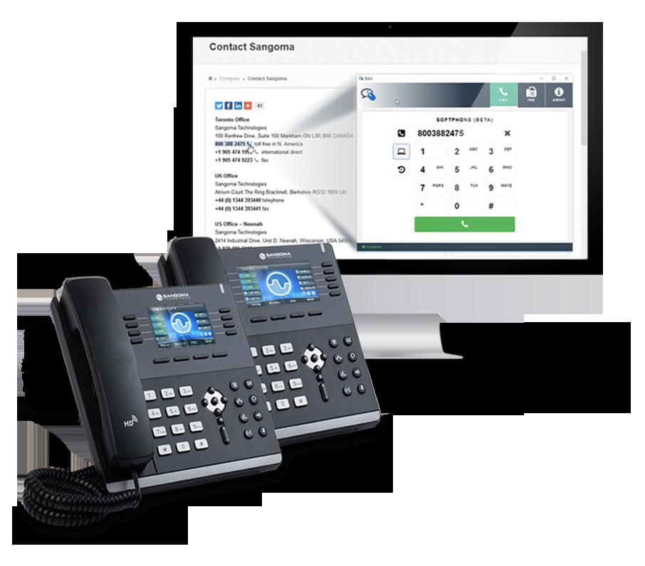Sangoma IP Phone Product Family | English
